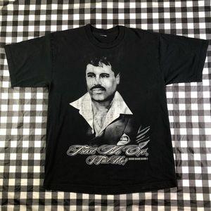 El Chapo Guzman Trust No One Scarface Style Drug
